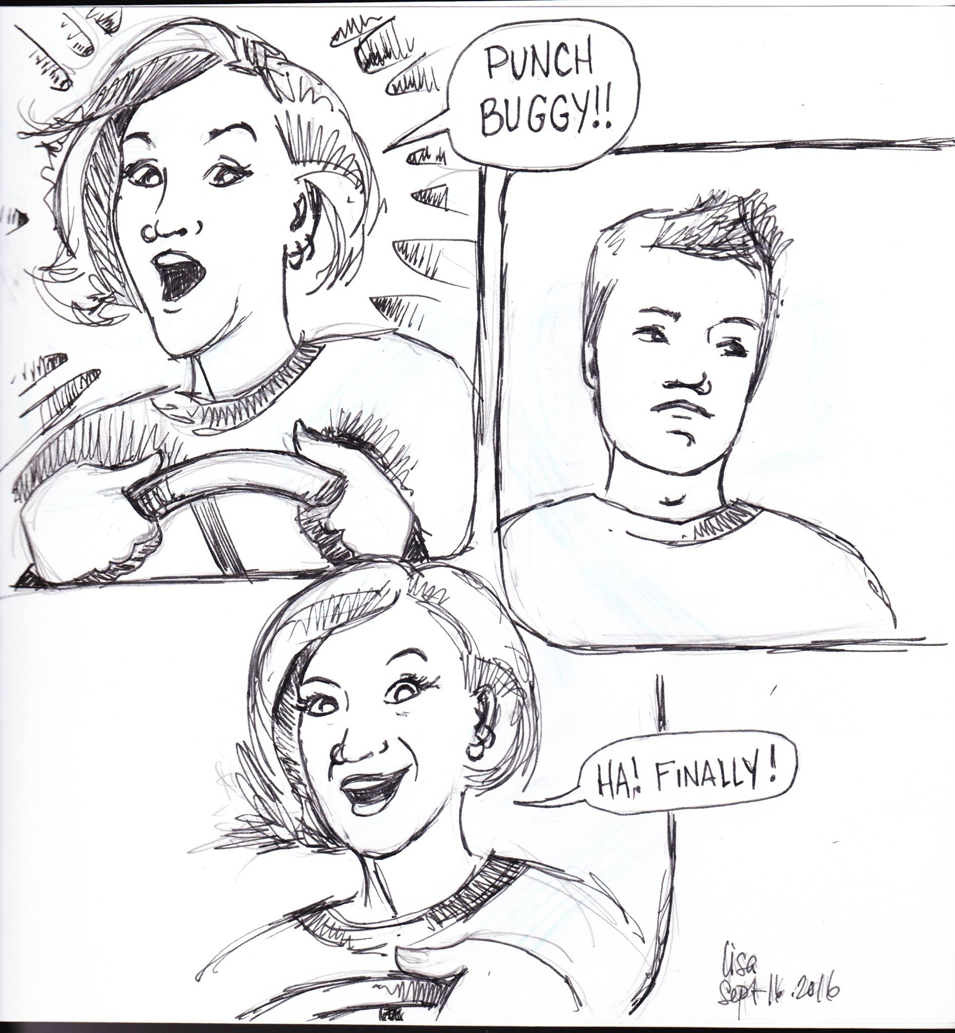 Journal comic day 2