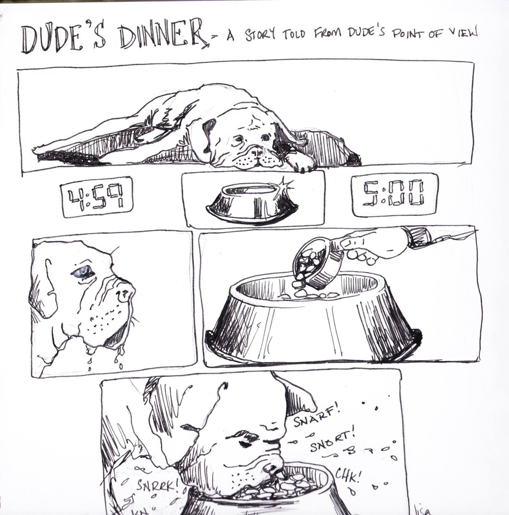 Journal comic day 4