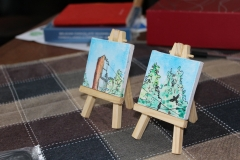 Little tiny paintings